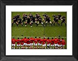 Framed Print of England v New Zealand - Investec Challenge from England Rugby Photo Store