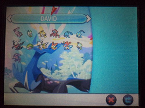 All Legendary Pokemon(13) Event 6 Iv From Legit Event English Name