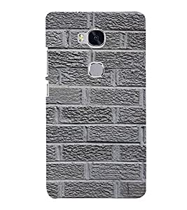 Classic Rock Pattern 3D Hard Polycarbonate Designer Back Case Cover for Huawei Honor 5X :: Huawei Honor X5 :: Huawei GR5