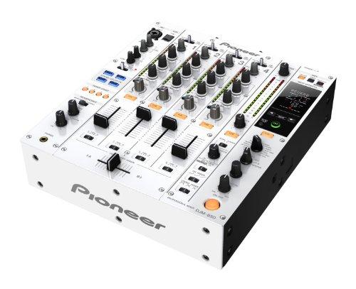 PIONEER DJM850 WEISS Mix 4 und mehr Kanal