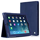 CaseCrown Bold Standby Case (Blue) for iPad 4th Generation with Retina Display, iPad 3 & iPad 2 (Built-in magnet for sleep / wake feature)by CaseCrown