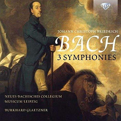 J.C.F. Bach: 3 Symphonies (Johann Christoph Friedrich Bach compare prices)