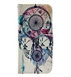 TOOPOOT(TM) Dreamcatcher Flip Stand Leather Cover Case For LG Optimus L90 D410 D405 D415