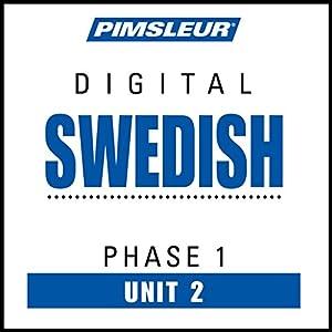 Swedish Phase 1, Unit 02 Audiobook