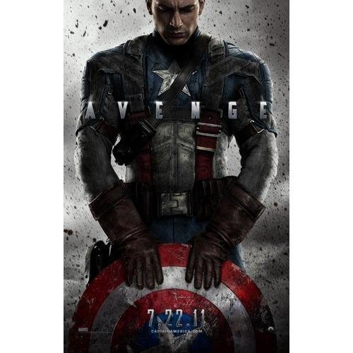 Sale alerts for Posters Captain America Poster #02 24x36in - Covvet