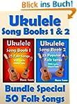 Ukulele Song Book 1 & 2 - 50 Folk Son...