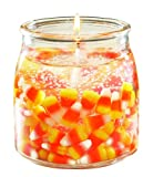 Langley Candy Corn 16 ounce Gel Candle