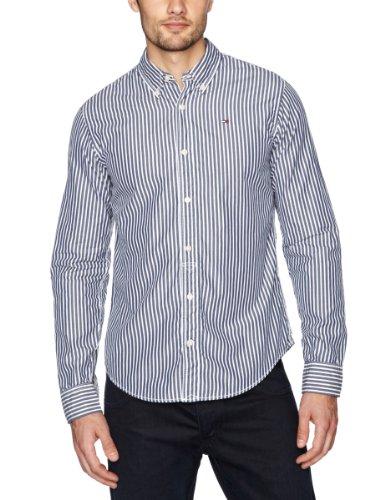 Tommy Hilfiger Thomas Sookie Stripe Long Sleeve Men's Shirt