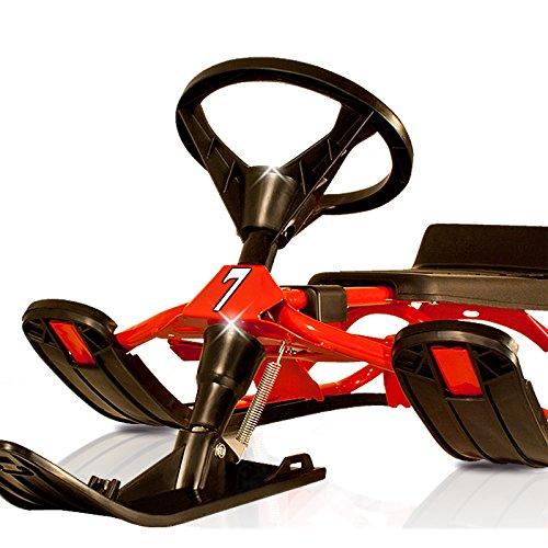 luge volant biplace pour sports d hiver adultes et enfants max 75kg rouge altisports. Black Bedroom Furniture Sets. Home Design Ideas