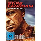 "Stirb Langsam - Quadrilogy 1-4 (4 DVDs)von ""Bruce Willis"""