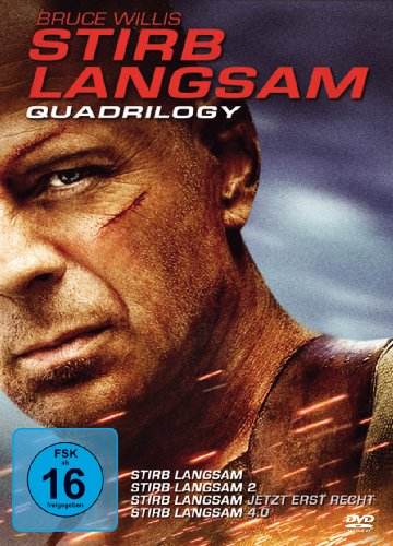 Stirb langsam Quadrilogy [4 DVDs]