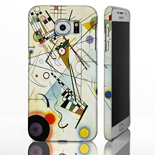 Art Collection-Cover per Samsung Galaxy Note 8 cm. Famous per pittura, plastica, Composition VIII - Candinsky, Galaxy S5