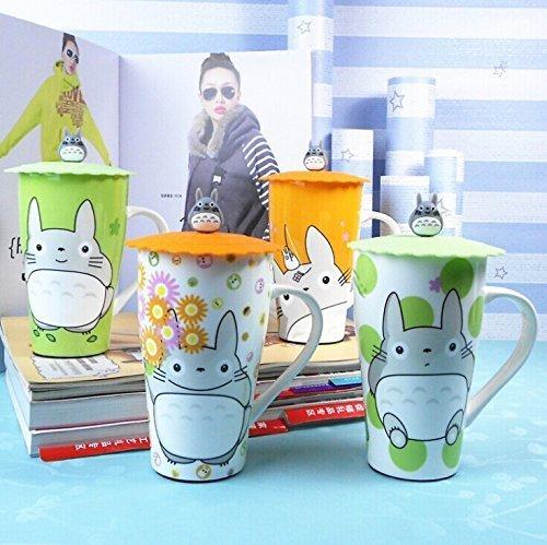 My Neighbor Totoro Mug With Silicone Lid (random color)