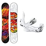 GNU B-Nice BTX Ladies Snowboard and Binding Package 2014 by Gnu