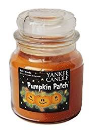 Pumpkin Patch Spiced Pumpkin & Harvest swirl Yankee Candle 13oz Medium Jar Halloween Candle by Yankee Canndles
