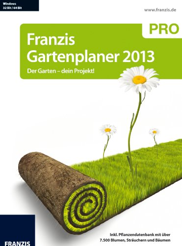 franzis gartenplaner 2013 pro der garten dein projekt. Black Bedroom Furniture Sets. Home Design Ideas