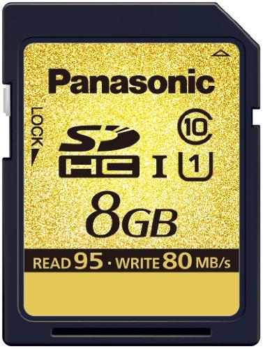 Panasonic RP-SDA08GE1K - SDHC-Karte Gold Pro 8GB Class10