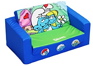 Sony Smurfs Kids Flip Sofa Love by Sony
