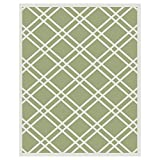 Budge Maverick Outdoor Patio Rug, RUG810SG4 (8' Long x 10' Wide, Sage Green)