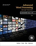 img - for Advanced Word Processing, Lessons 56-110: Microsoft Word book / textbook / text book
