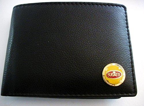 Bugatti Men'S Bi-Fold Italian Leather Wallet