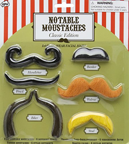 Notable Moustaches - Classic Edition - 1