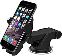 iOttie Easy One Touch 2 Car Mount Holder for iPhone 6 (4.7)/ Plus (5.5)/ 5s/ 5c/, Samsung Galaxy S6/S6 Edge/ S5/S4/ S3/ Note 4/3, Google Nexus 5/4, LG G4-Retail Pack