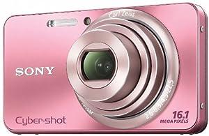 Sony DSC-W570P Appareil photo numérique 16,1 Mpix Rose