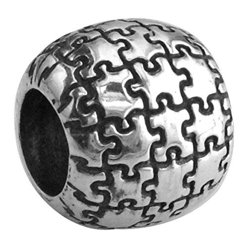 autismo-conciencia-puzzle-pieza-cuentas-de-pulsera-en-plata-de-ley