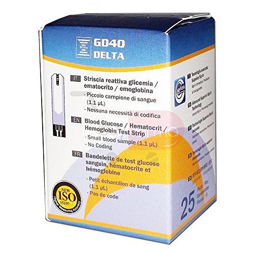 Strisce Reattive Glicemia GD40 DELTA -Bruno