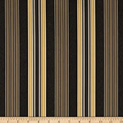 44'' Wide French Press Stripes Charcoal Fabric By The Yard from Choice Fabrics