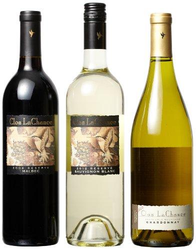 Clos LaChance Wines  Reserve Bordeaux Mixed Pack, 3 x 750 mL