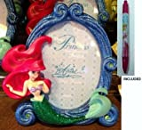 Disney Parks Princess Ariel Photo Frame -Disney Parks Exclusive & Limited Availability + Aurora Pen Included