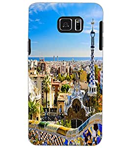 SAMSUNG GALAXY NOTE 5 CITY VIEW Back Cover by PRINTSWAG
