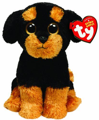 Ty Beanie Baby - Brutus - Laying Dog
