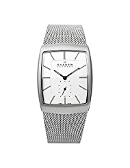 Skagen 915XLSSS Steel Textured Accents
