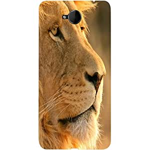 Casotec Lion Design 3D Printed Hard Back Case Cover for Microsoft Lumia 650