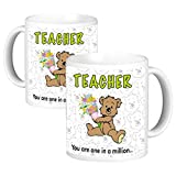 ToduGift You are one in a million Teacher Ceramic Mug