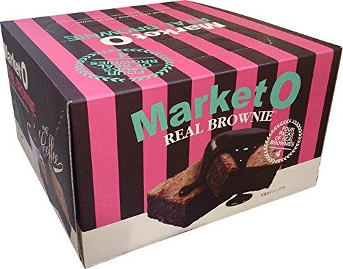 Market O マーケットオー リアルブラウニーギフトパック 28個入り(7個×4箱)