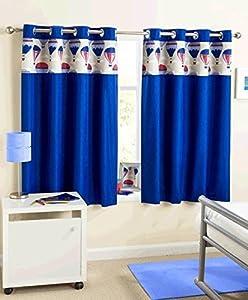 En forme de montgolfi re pour enfant bleu 117 x 54 rideaux - Rideau chambre garcon bleu ...