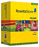 Rosetta Stone Homeschool Italian Level 1 including Audio Companion