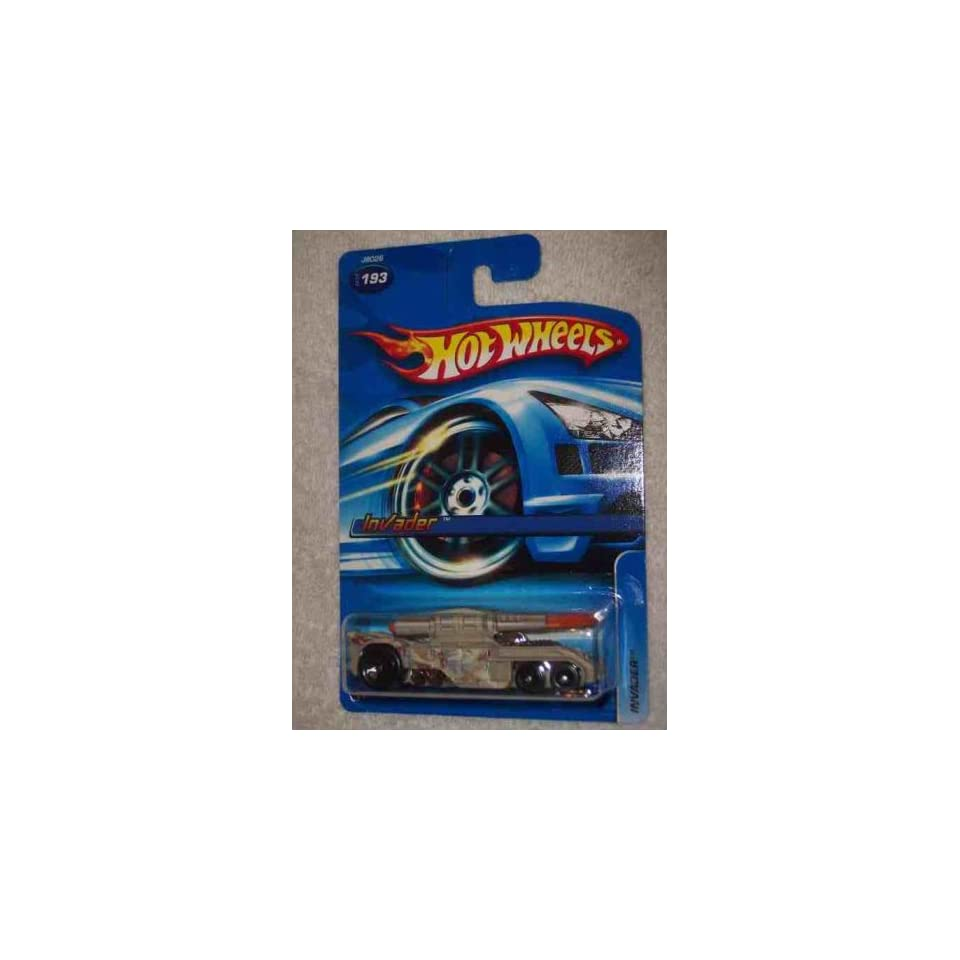 #2006 193 Invader 06 Card Collectible Collector Car Mattel Hot Wheels 164 Scale