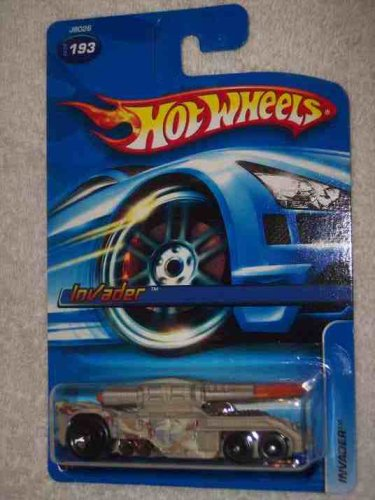 #2006-193 Invader 06 Card Collectible Collector Car Mattel Hot Wheels 1:64 Scale - 1