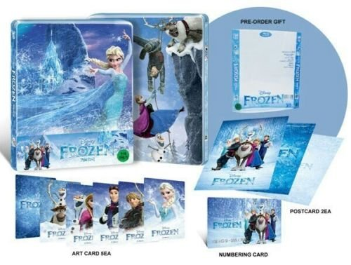 Frozen [Blu-ray 3D/Blu-ray