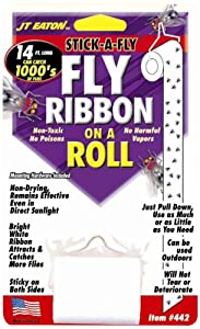 JT Eaton Stick-A-Fly Ribbon on a Roll fly trap