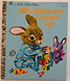 img - for When Bunny Grows Up, a Little Little Golden Book book / textbook / text book