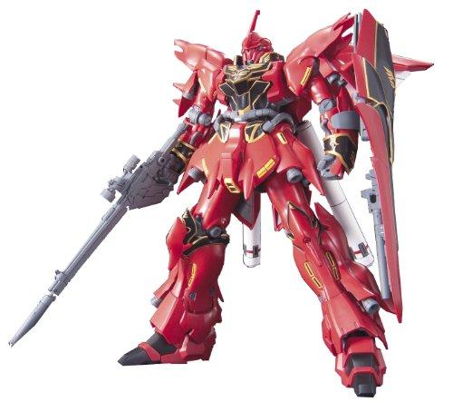 Bandai Gundam 1/144 Scale Model Kit - MSN-06S SINANJU - Neo Zeon Mobile Suit Customized for Newtype