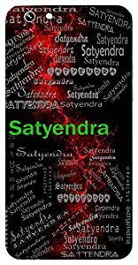Satyendra (Best Among Truthful) Name & Sign Printed All over customize & Personalized!! Protective back cover for your Smart Phone : Moto G-4