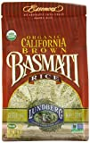 Lundberg Organic California Basmati Rice, Brown, 16 Ounce (Pack of 6)