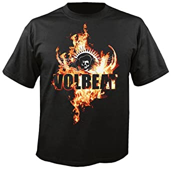 VOLBEAT - On Fire - T-Shirt Größe S